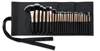 Rio Professional makeup børster Cosmetic Brush Collection - Rose gold