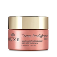 Natcreme Night Recovery Oil Balm Creme Prodigieuse Boost Nuxe