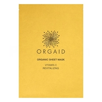 Sheet Mask Vitamin C Revitalizing - Orgaid 1 stk.