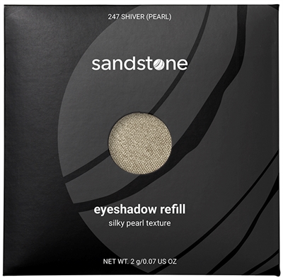 Sandstone Eyeshadow refill farve 247 shiver Pearl