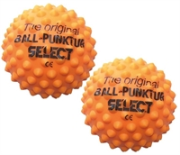 Select ball-stik massagebolde orange ø 9 cm - 2 stk.