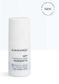 Karmameju 02 Soft power og sage deodorant - deo roll on - 50 ml